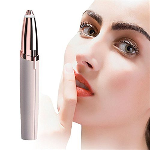 USB Electric Eyebrow Trimmer Makeup Painless Eye Brow Epilator Mini Shaver Razors Portable Facial Hair Remover Women Depilator