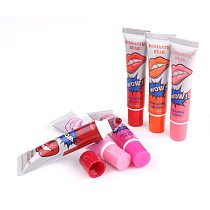 6 Colors Amazing Moisturizer Lip Gloss Waterproof Makeup Lip Stick Long Lasting Liquid Lipstick Tint Tear Pull Lipgloss TLSM2