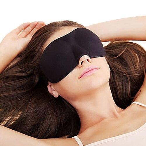 Joylife 1Pc 3D Sleep Eye Mask With Earplugs Natural Sleeping Eye Mask Eyeshade Cover Shade Eye Patch Women Men Home Travel Soft