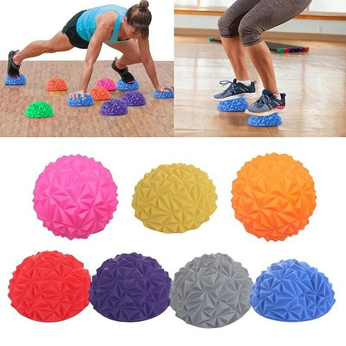 Pineapple Ball Foot Massager Cube Diamond Pattern Pineapple Ball Children's Sense Training Foot Massage Ball Toy Fitness Balls