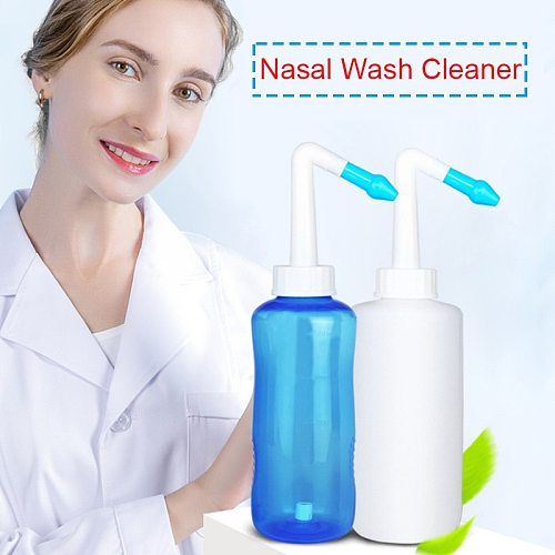Adults Children Nasal Wash Cleaner Sinusite Nose Protector Cleans Moistens Child Adult Avoid Allergic Rhinitis Neti Pot