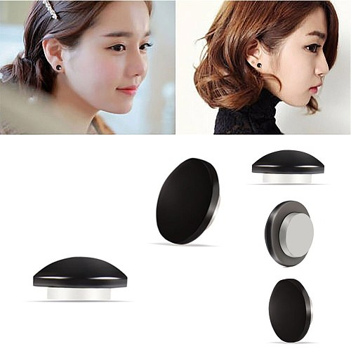 1 Pairs Blue/Black Magnetic Slimming Earrings Slimming Patch Lose Weight Health Magnets Of Lazy Paste Slim Patch