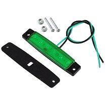 Car External Lights LED 12V/24V 6 SMD LED Auto Car Bus Truck Lorry Side Marker Indicator Light Low Trailer Rear Warning Lamp