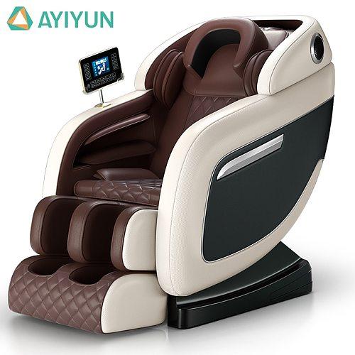 AYIYUN Hot Selling Massage Chair Electric Full Body Luxury Leather Kneading Vibration Heated Zero Gravity Massage Chair M9