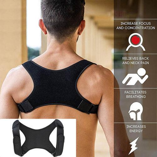 Spine Posture Corrector Protection Back Shoulder Posture Correction Band Humpback Back Pain Relief Corrector Brace Support Belt