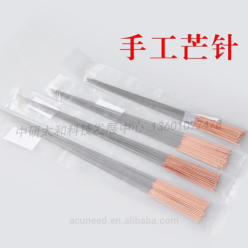 Zhongyan Taihe Acupuncture Needles Acupuncture High Quality 20 Pieces Reusable Large Size Big Size Massage Beauty Massage Needle