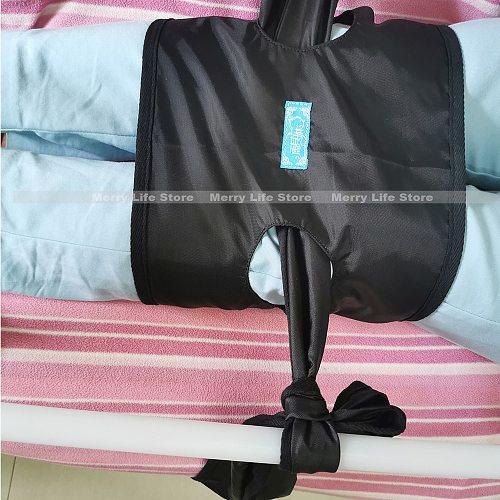 Lower Limbs Leg Restraint Strap Belt Patient Hospital Bed Knee Leg Constraint Belt Band for Elders Handicap Medical Supplies