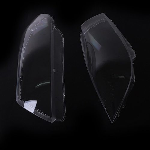 KKMOON 2PCS  Lens Front Headlamp Headlight Clear Cover Right Side Headlamp Lense car styling for BMW 3Series E90 E91 2005-2008