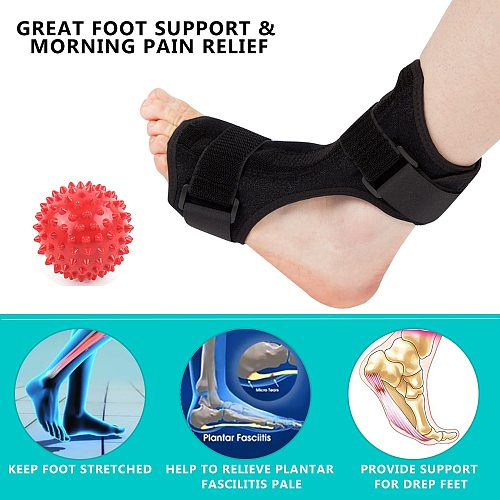 Adjustable Foot Tool Orthosis Plantar Fasciitis Dorsal Splint Brace Stabilizer Pain Relief Bone Care Ball Tools  Tool parts