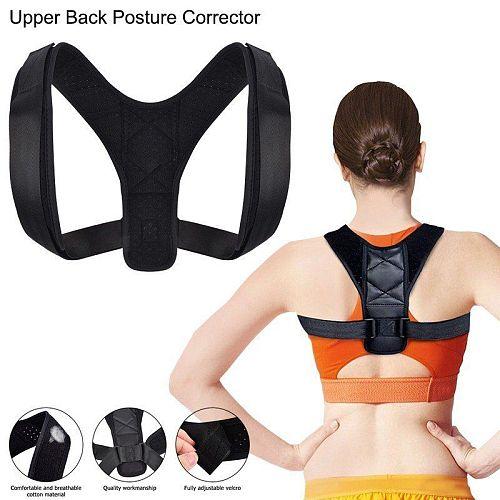 Medical Adjustable Clavicle Posture Corrector Men Women Upper Back Brace Shoulder Lumbar Support Belt Corset Posture Correction