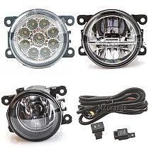 Fog Lights For Renault Duster Megane 2/3 Fluence Koleos Kangoo 2003-2015 LED halogen DRL Fog Lamps headlights fog light foglight