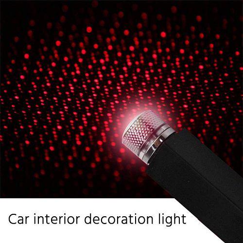 Car Roof Lights Romantic USB Night Light  Atmosphere Lamp Home Ceiling Decoration Light Plug-play Car Interior Lights