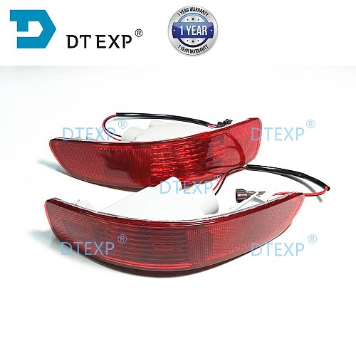 2007-2012 Rear Bumper Lamp for Airtrek Rear Fog Lamp for Outlander Ex Rear TURN Signal Light Warning Lights Marker Lamps