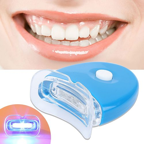 Portable Home Use 1pc Teeth Whitening Light Oral Care For Personal Teeth Treatment Bleaching System Bright White Unisex Dropship