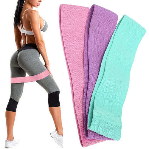Exercise Resistance Bands Stretch Workout Resistance Band for Hip Fitness Training Raise the hip line and modify the legs
