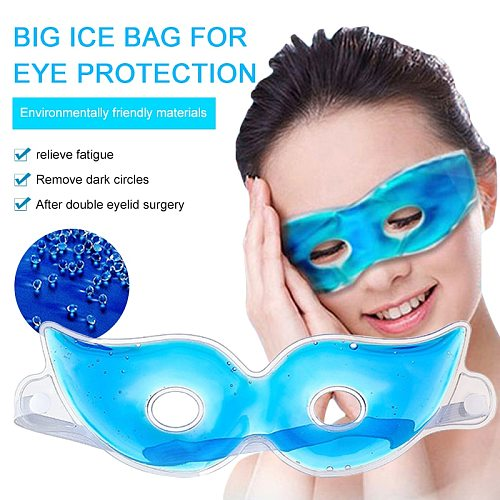 Cool Cold Eye Mask Ice Gel Eye Fatigue Relief Reduce Dark Circles Cooling Eye Care Relaxing Sleeping Eye Gel Patches Mask