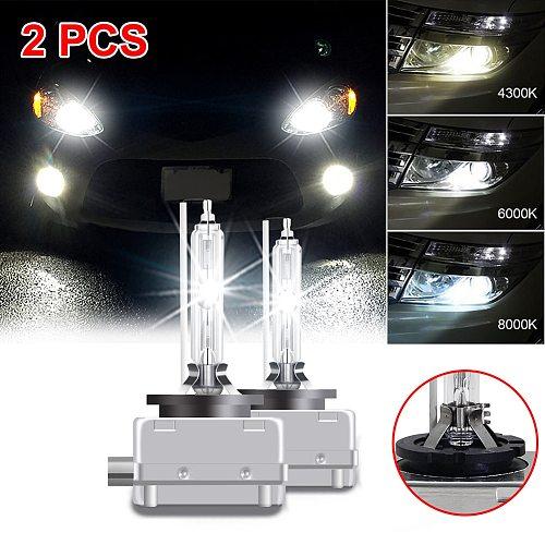 Free Shipping! 2PCS NEW D1S Car Headlight Bulb Kit 66140 66144 85410 85415 HID XENON Headlights Bulbs 4300K 6000K 8000K Set