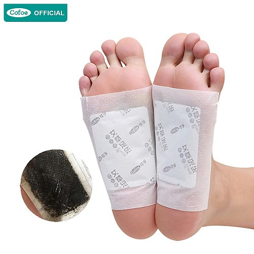 Cofoe Wormwood & Ginger Foot Patch Dehumidity Conditioning  Foot Patch Detox and Dampness Patch Sleep For health artifact