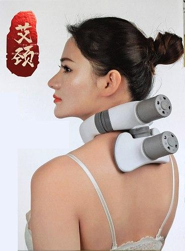 Neck Waist Treatment  Moxa Stick Moxibustion Smokeless Roll Mini Self-adhesive Acupuncture Massage Sticker 6pcs Patent Design