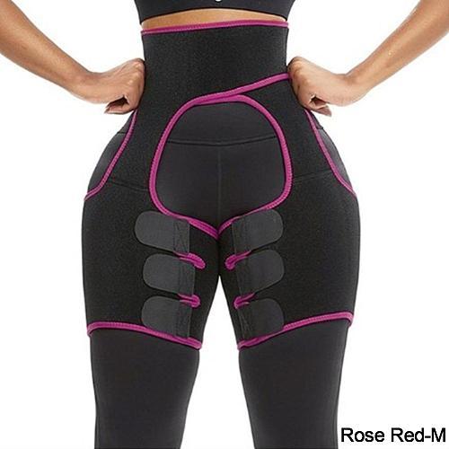 Neoprene Slimming Belt Body Leg Shaper Weight Loss Fat Burning Waist Trainer Sweat Waist Belt Workout Thigh Shaper