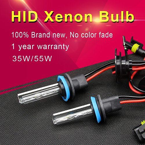 1 pair 35W 55W H7 HID Xenon Bulb D2H 9012 H1 H4 H11 9005 HB3 HB4 Auto Car Headlight Lamp 3000K 4300K 6000K 8000K 10000K