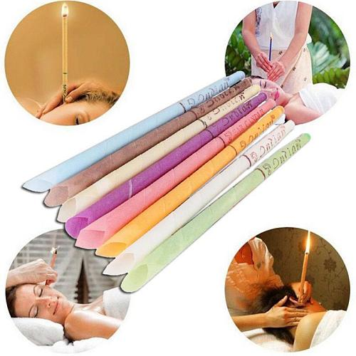 Ear Cleaner Earwax Candles Hollow Blend Cones Natural Beeswax Aromatherapy Removal Fragrance Candling Cone Relax Indian Therapy
