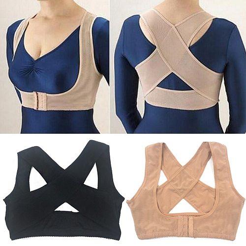 Posture Corrector Adjustable Women Back Support Belt Orthotics Posture Correction Brace Rectify Posture Corset Shoulder Posture