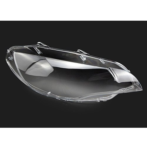 Car Lamp Shell Masks Front Headlight Cover Lens Glass Headlamps Transparent Lampshad For BMW X6 E71 2008-2014
