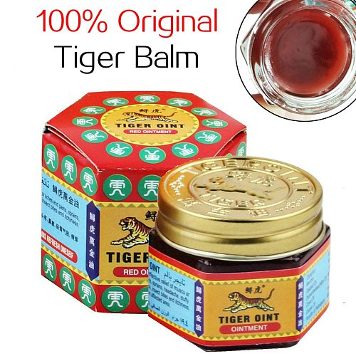 100% Original Red White Tiger Balm Ointment Thailand Painkiller Ointment Muscle Pain Relief Ointment Soothe itch Essential Balm