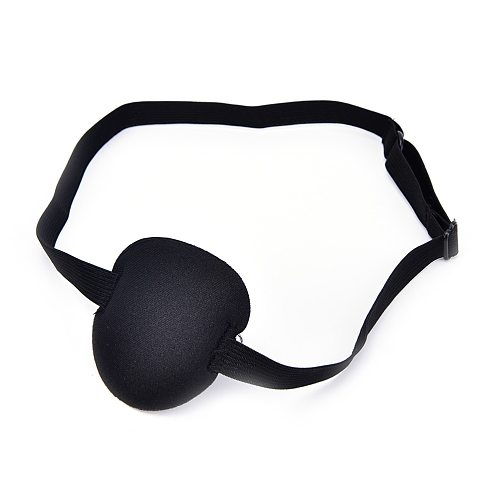 1Pcs Black Medical Use Concave Eye Patch 3D Foam Groove Eyeshades For Lazy Eye