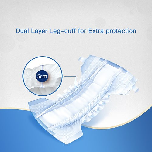 Disposable Adult Diaper Incontinence diaper Adult nappy comfortable incontinence underwear abdl diapers for old people