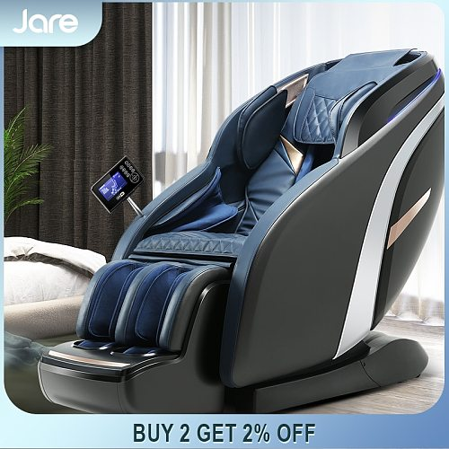 Jare A9 New OEM ODM Cheap Price Hot Sales Zero Gravity 4D Electric Heated Vibration SL-Track Full Body Massage Chair