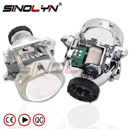 Sinolyn Bi Xenon Car Lamp D2S Projector Lens For BMW E46 AL M3 E92 E90 E70/Benz W220 W203 W215/Volvo S40/Audi A1 A4 B7 Headlight