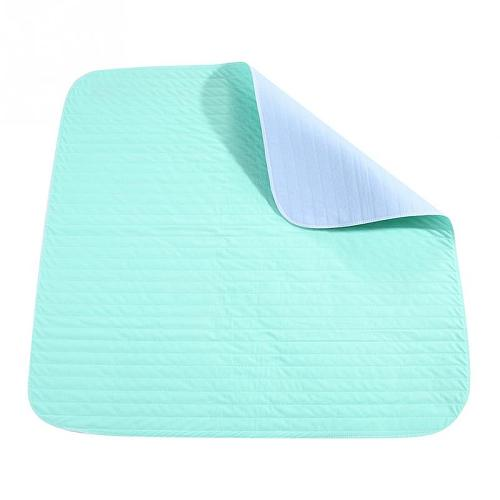 80*51cm Reusable Urine Proof Bed Sheet Underpad Mat Washable Waterproof Kids Adult Urinary Incontinence Pad Adult Diaper