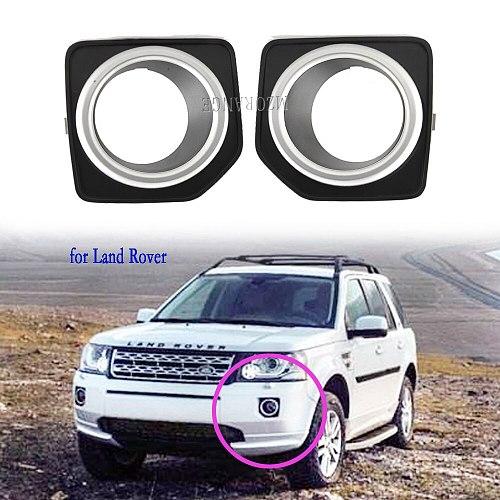Fog Lights for Land Rover Freelander 2 LR2 2013-2016 Fog Light Cover Grill Cap Frame Shell LED Foglight Fog Lights Headlight