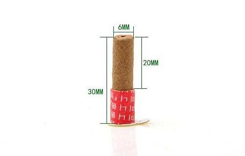 high quality Smokeless self-stick Moxa tube acupuncture massage moxibustion tube 180pcs moxa sticks