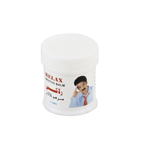 Relax Mentho Balm - Vapour Rub White Cooling Balm Ointment For Anti Mosquito Headache Toothache Stomachache Dizziness