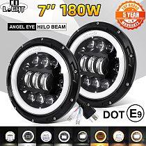 CO LIGHT 7 inch Led Headlight Offroad 4x4 9000LM Hi/Low 12V 24V LED DRL 7  Led Headlamp for Motocycle Lada Niva UAZ 3500K 6500K