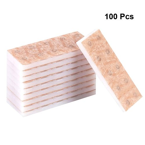 100Pcs Press Needle Healthy Accupuncture Thumbtack Therapy Acupuncture Disposable Intradermal Press Needle Needle Healthy Care
