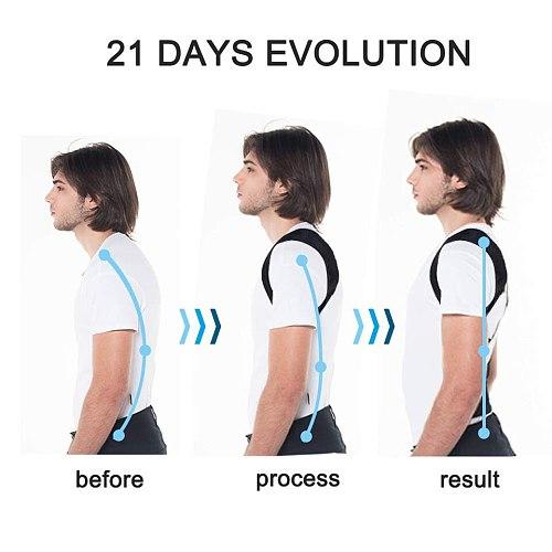 Boys Girls Adjustable Posture Corrector Back Support Children Shoulder Belt Rectify Straighten Correction Pain Relief Beauty Kid