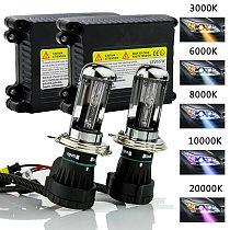 H4 Xenon H4 HID Xenon Kit 35W/ 55W Slim Ballast Kit h13 HID Xenon Headlight Bulb h4 Bi Xenon Ignition Unit Block Bulbs Kit
