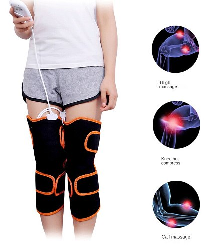 Electric Heating Knee Pad Warm Moxibustion Self-Heating Kneelet Joint Massage Knee Health Care Equipment Old Cold Leg