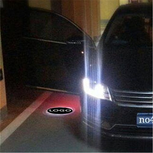 JXF Signal Decorative Lamp Car Lights For tuscani chery BYD For dacia Door Welcome universal LED Laser Logo Ghost Shadow Warning