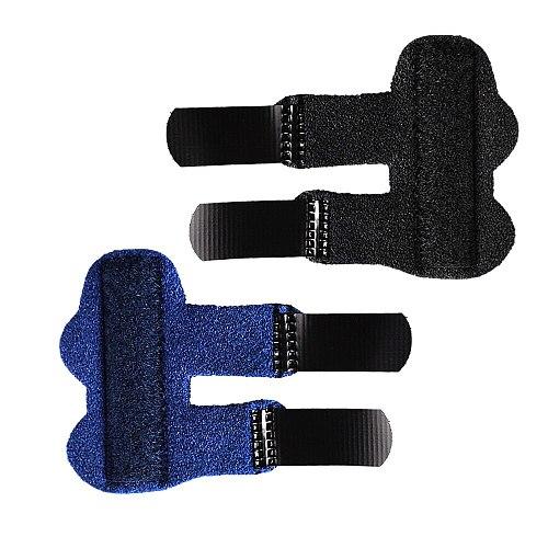 11Pcs/Set Finger Guard Sleeve Finger Splint Suit Adjustable Finger Support Splint for Trigger Finger Arthritis and Ligament Pain