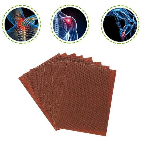 8Pcs/bag Muscle Pain Patch Osteochondrosis Joint Pain Bruises Relief Health Care Massage Relaxation New