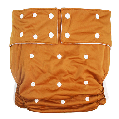1PC Teen Adult Washable Cloth Diaper Pants Adjustable Nappy Pocket Incontinence Waterproof Reusable Leg Gussets Insert Underwear