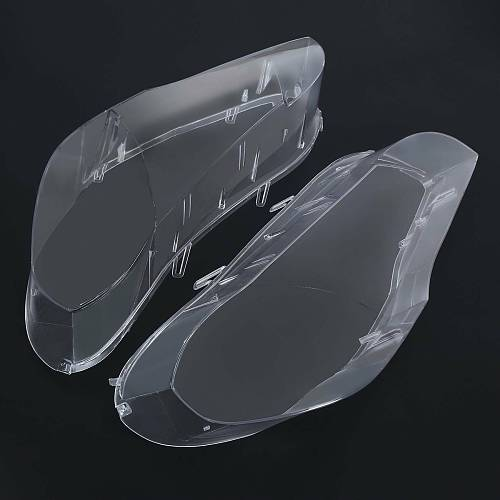 Samger 2Pcs Headlight Lens Headlamp Lens Cover Car Headlight For BMW X5 E70 2007-2013 Left + Right
