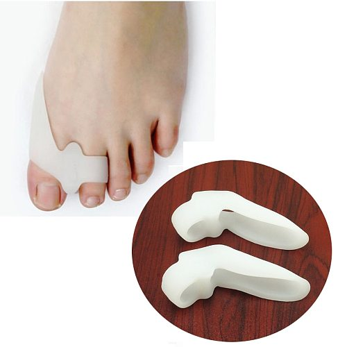 2/4/6Pcs Silicone Gel Foot Fingers Toe Separator Thumb Valgus Protector Bunion Adjuster Hallux Valgus Guard Feet Care Massager