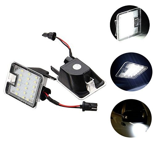 Car Led Side Mirror Light Rear View Mirror Welcome Light Puddle Light For Ford Kuga Focus