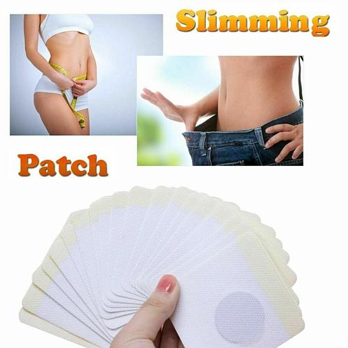 10pcs Slim Patch Weight Loss Fat Burning Navel Sticker Herb Slimming  Losing Weight Cellulite Fat Burner Detox Belly Plaster